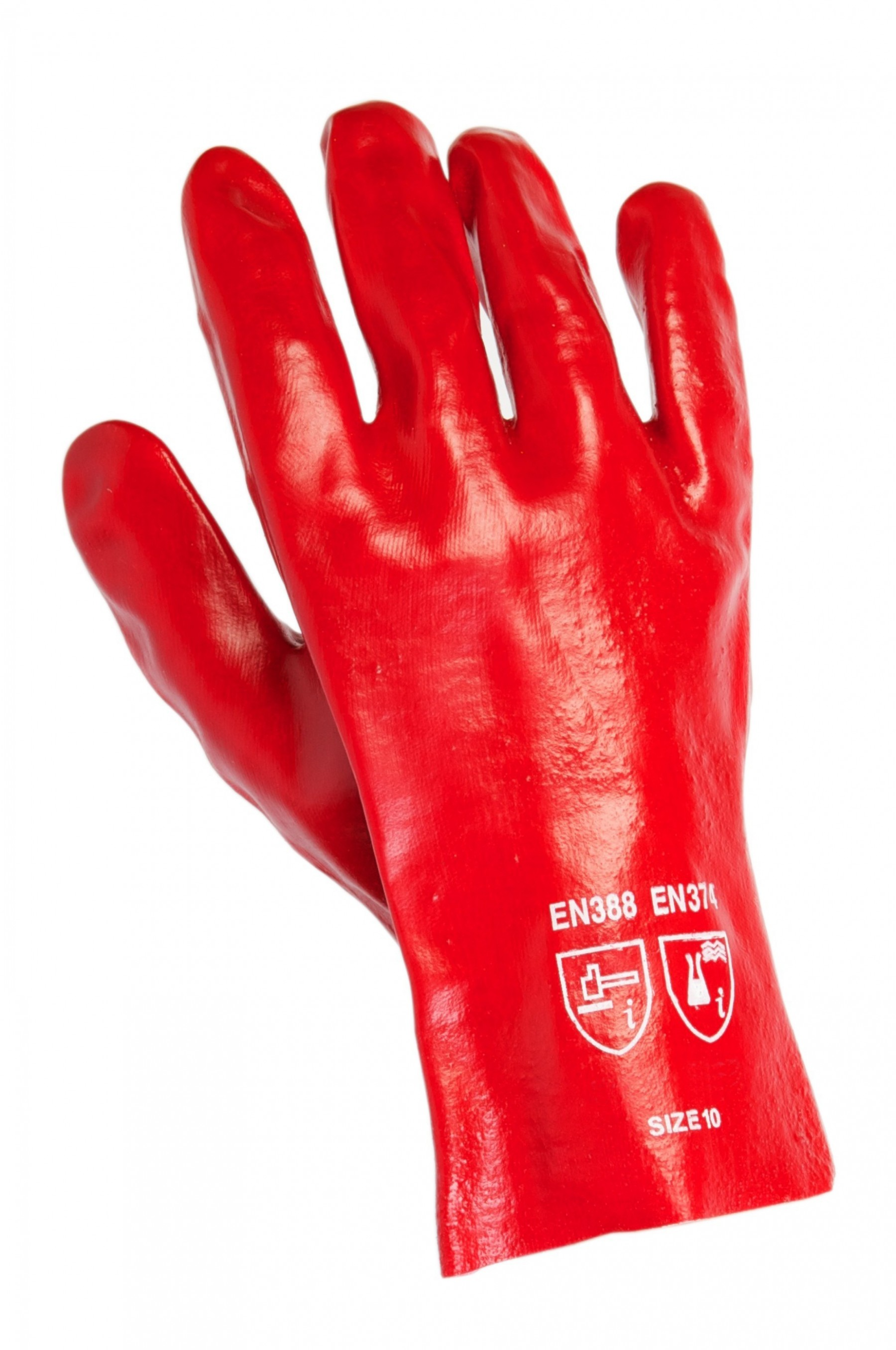 Warrior Red PVC Open End