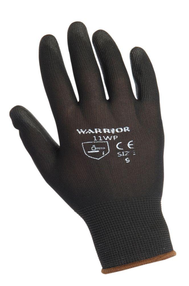 Warrior Black PU Glove