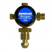 Single Stage Plugged Oxygen Regulator 10 bar